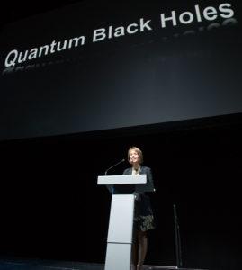 Folt introducing Hawking