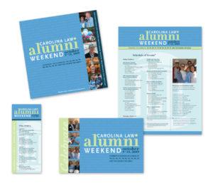alumni weekend sample material